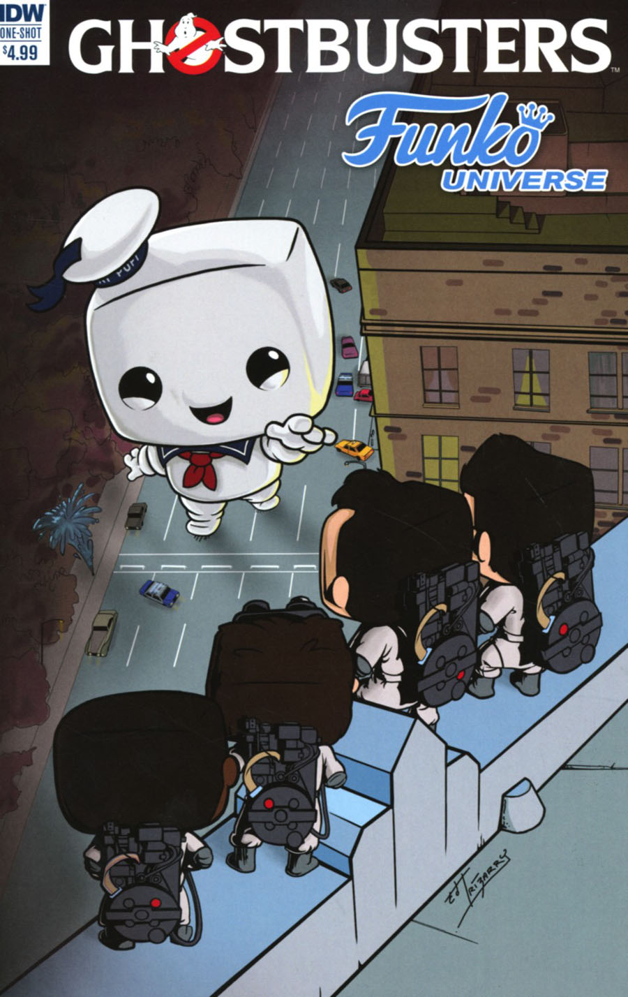 Ghostbusters Funko Universe Cover A Regular Eddie Irizarry Cover