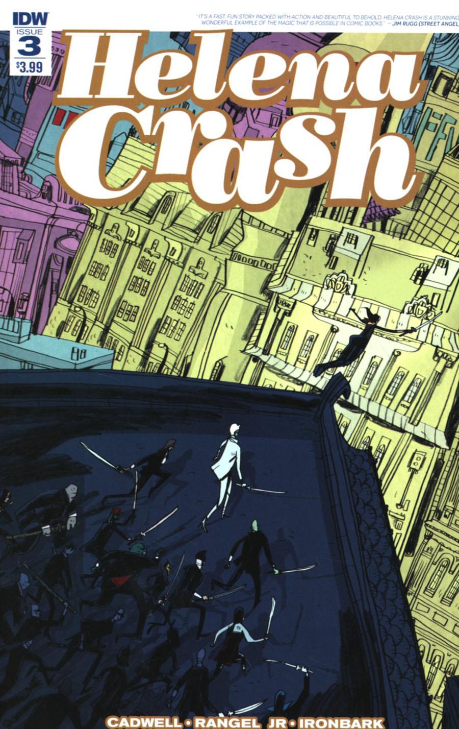 Helena Crash #3 Cover A Regular Warwick Johnson-Cadwell Cover
