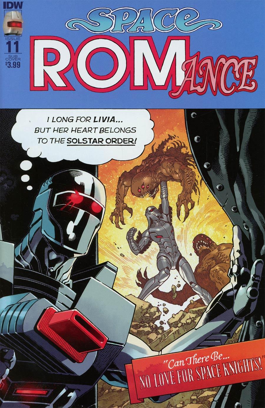 ROM Vol 2 #11 Cover B Variant Gabriel Rodriguez Subscription Cover