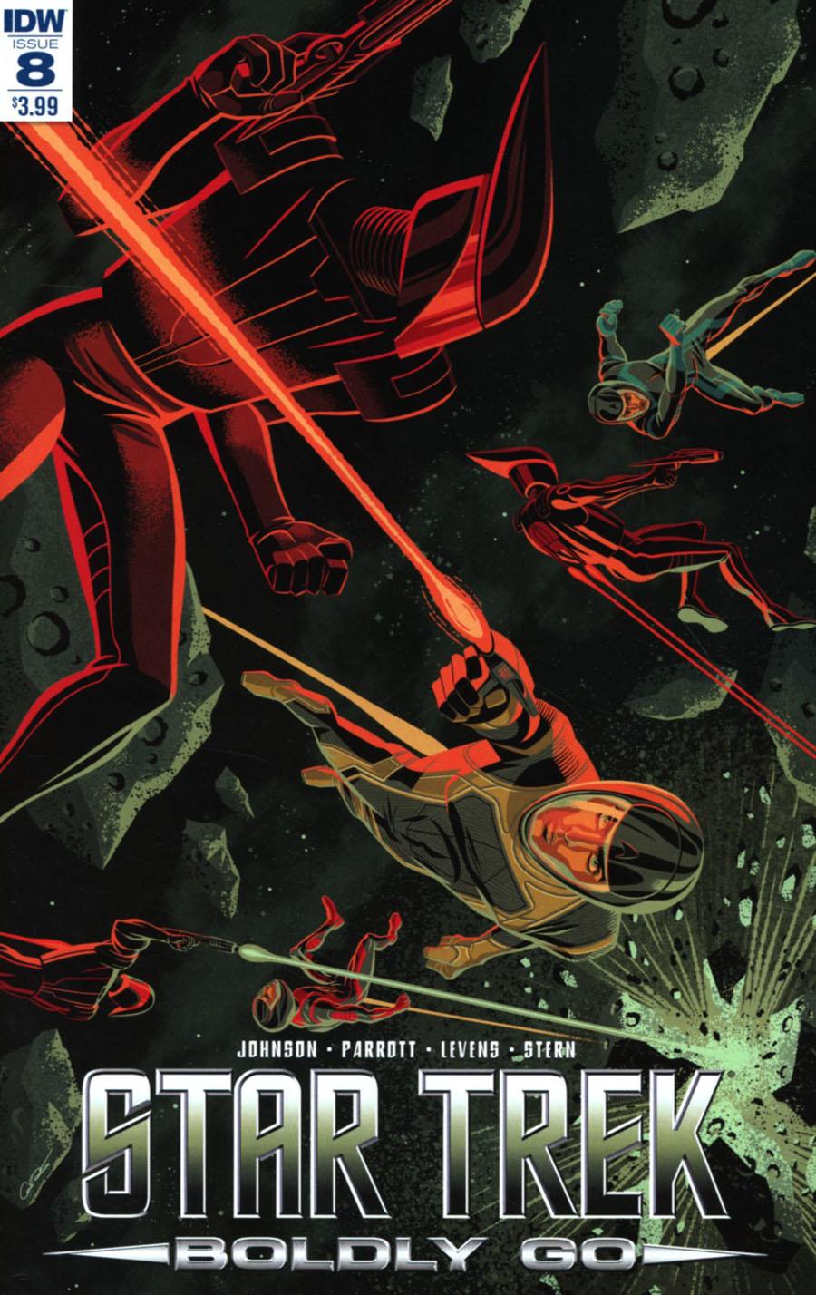 Star Trek Boldly Go #8 Cover A Regular George Caltsoudas Cover