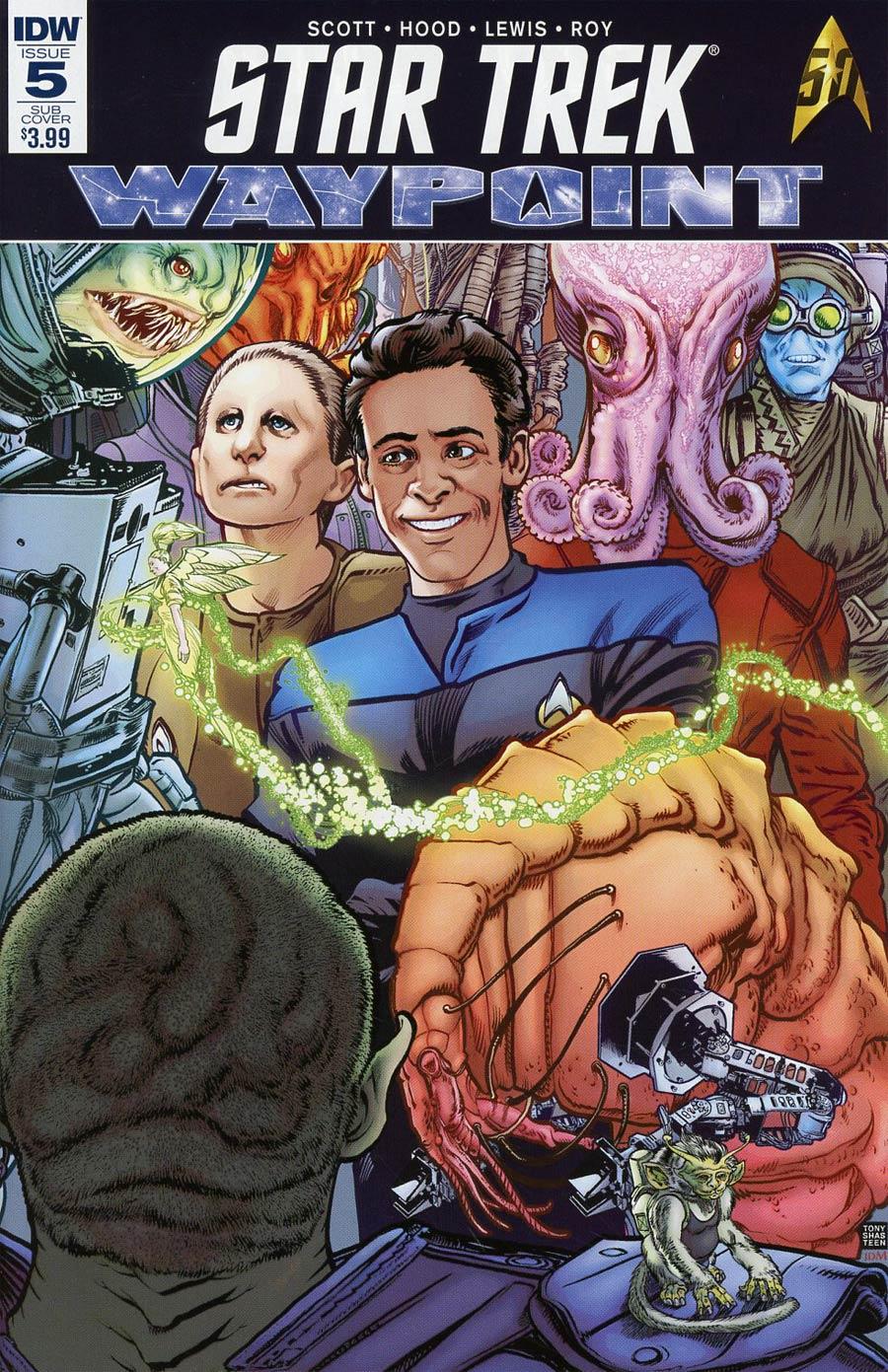 Star Trek Waypoint #5 Cover B Variant Tony Shasteen Subscription Cover