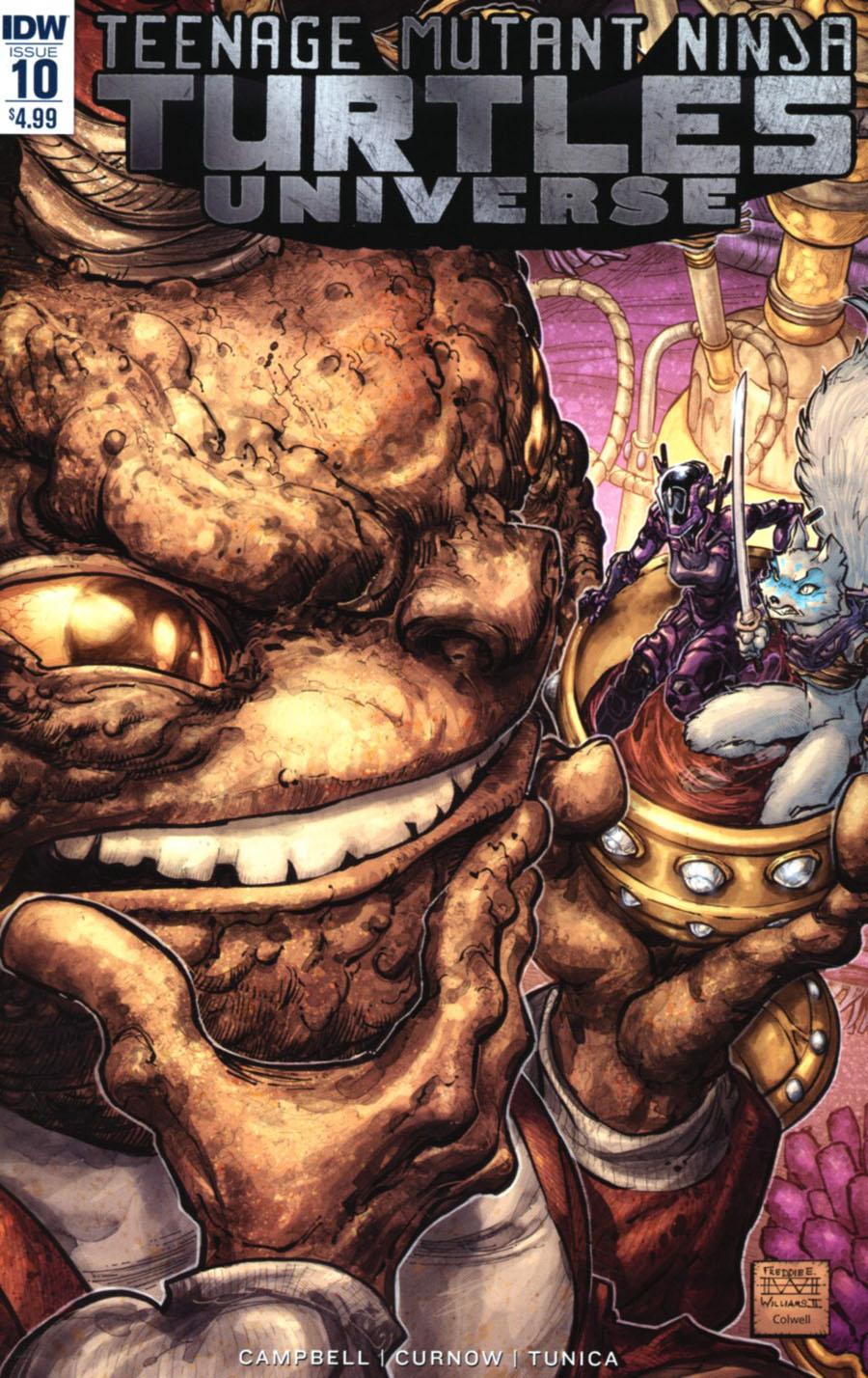 Teenage Mutant Ninja Turtles Universe #10 Cover A Regular Freddie Williams II Cover