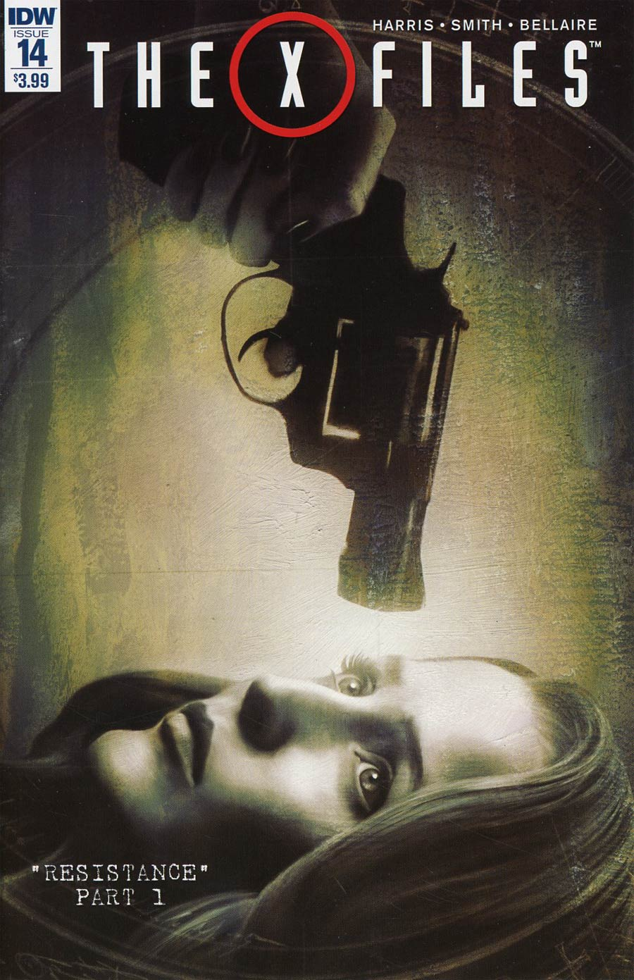 X-Files Vol 3 #14 Cover A Regular Menton3 Cover