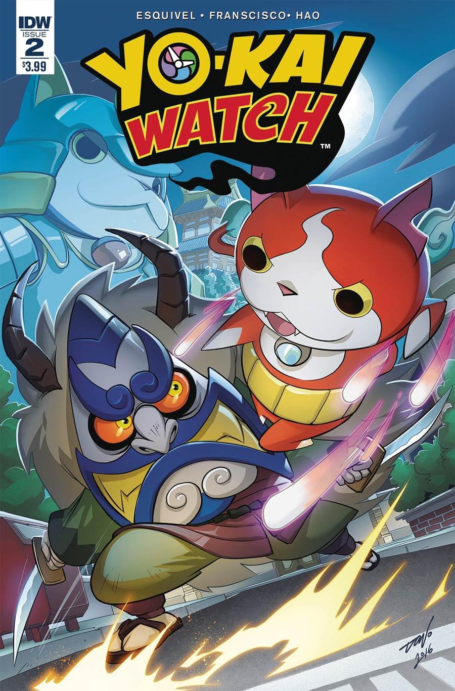 Yo-Kai Watch #2 Cover A Regular Dono Sanchez Almara Cover