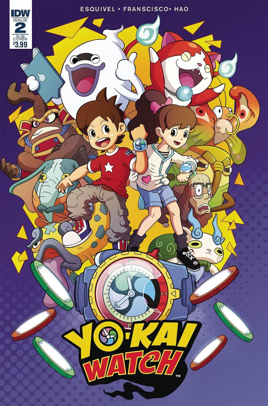 Yo-Kai Watch #2 Cover B Variant Philip Murphy Subscription Cover