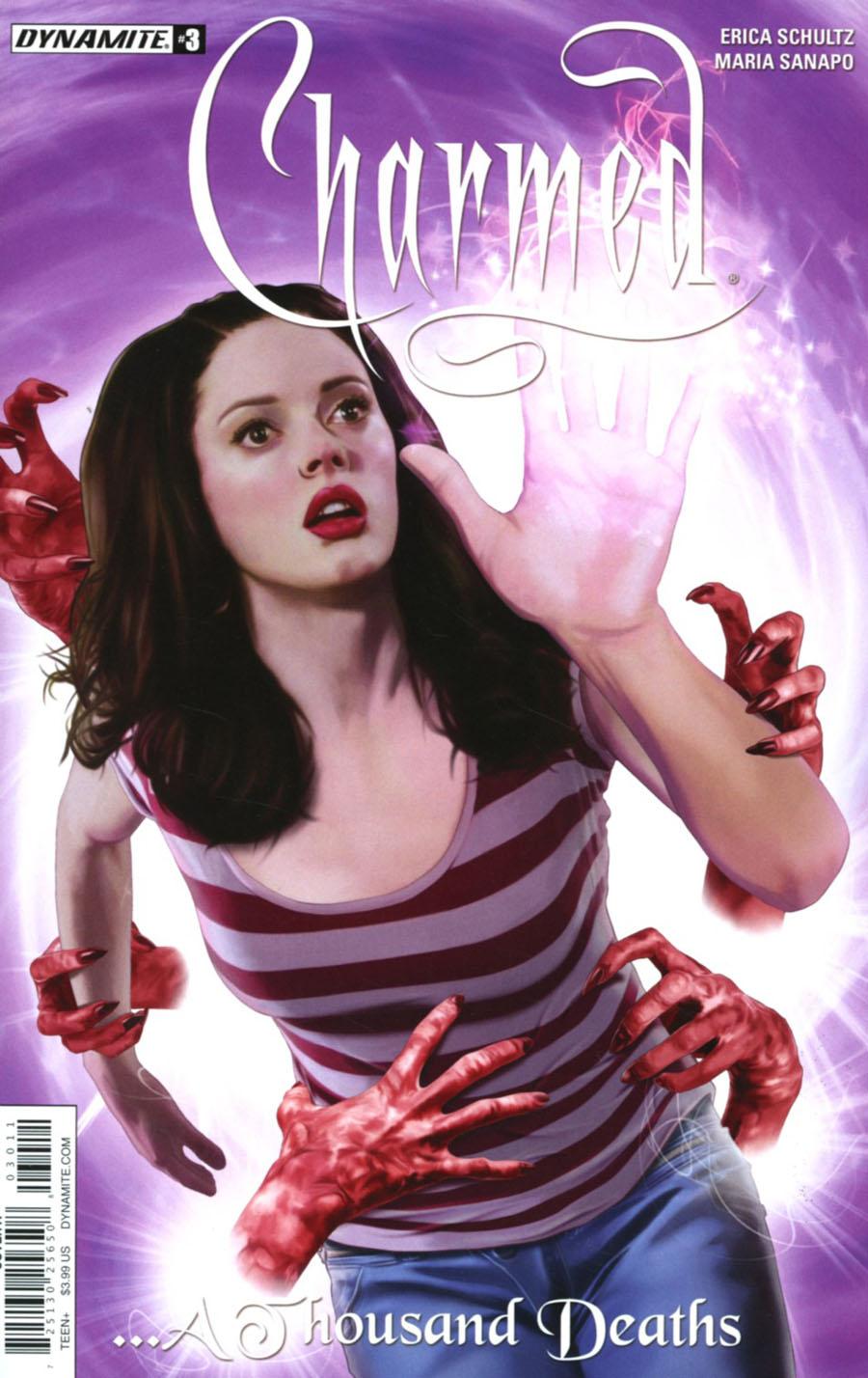 Charmed Vol 2 #3 Cover A Regular Joe Corroney Cover