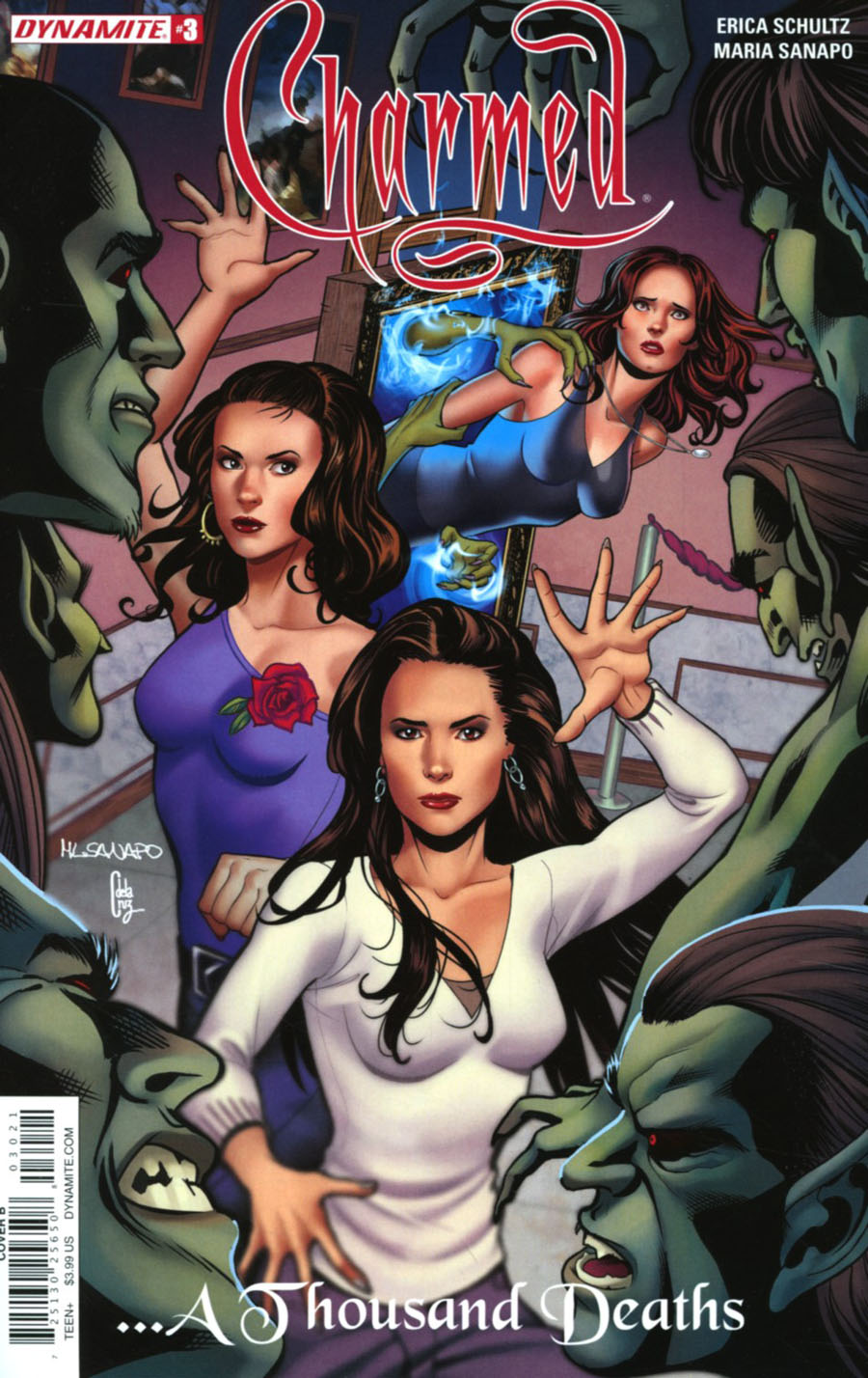 Charmed Vol 2 #3 Cover B Variant Maria Sanapo Cover