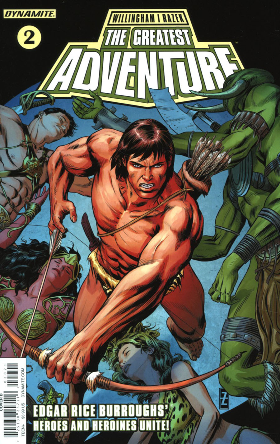 Greatest Adventure #2 Cover B Variant Patrick Zircher Cover