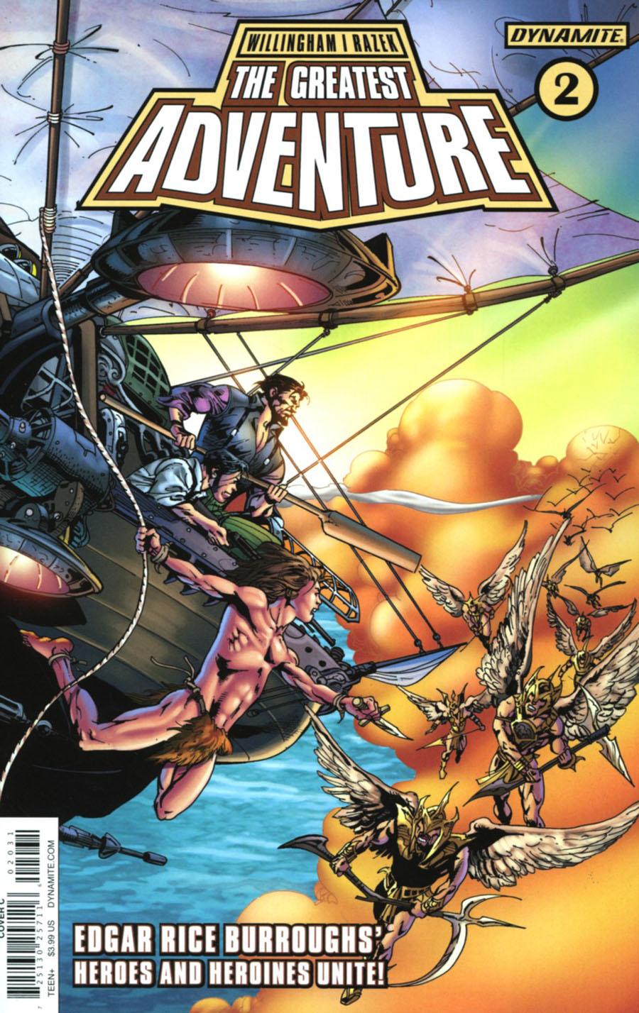 Greatest Adventure #2 Cover C Variant Roberto Castro Cover