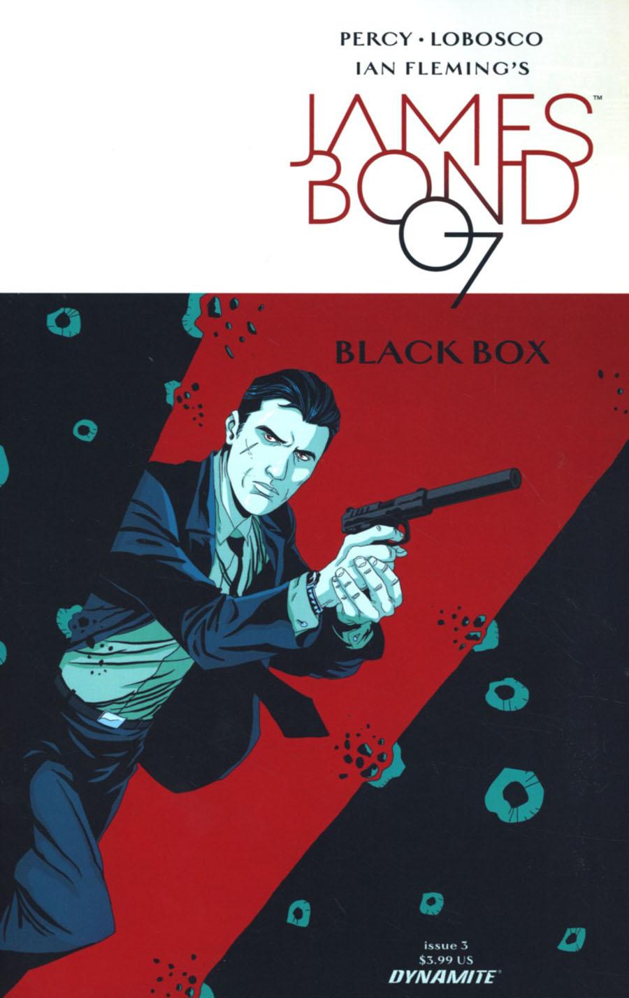 James Bond Vol 2 #3 Cover C Variant Rapha Lobosco Cover