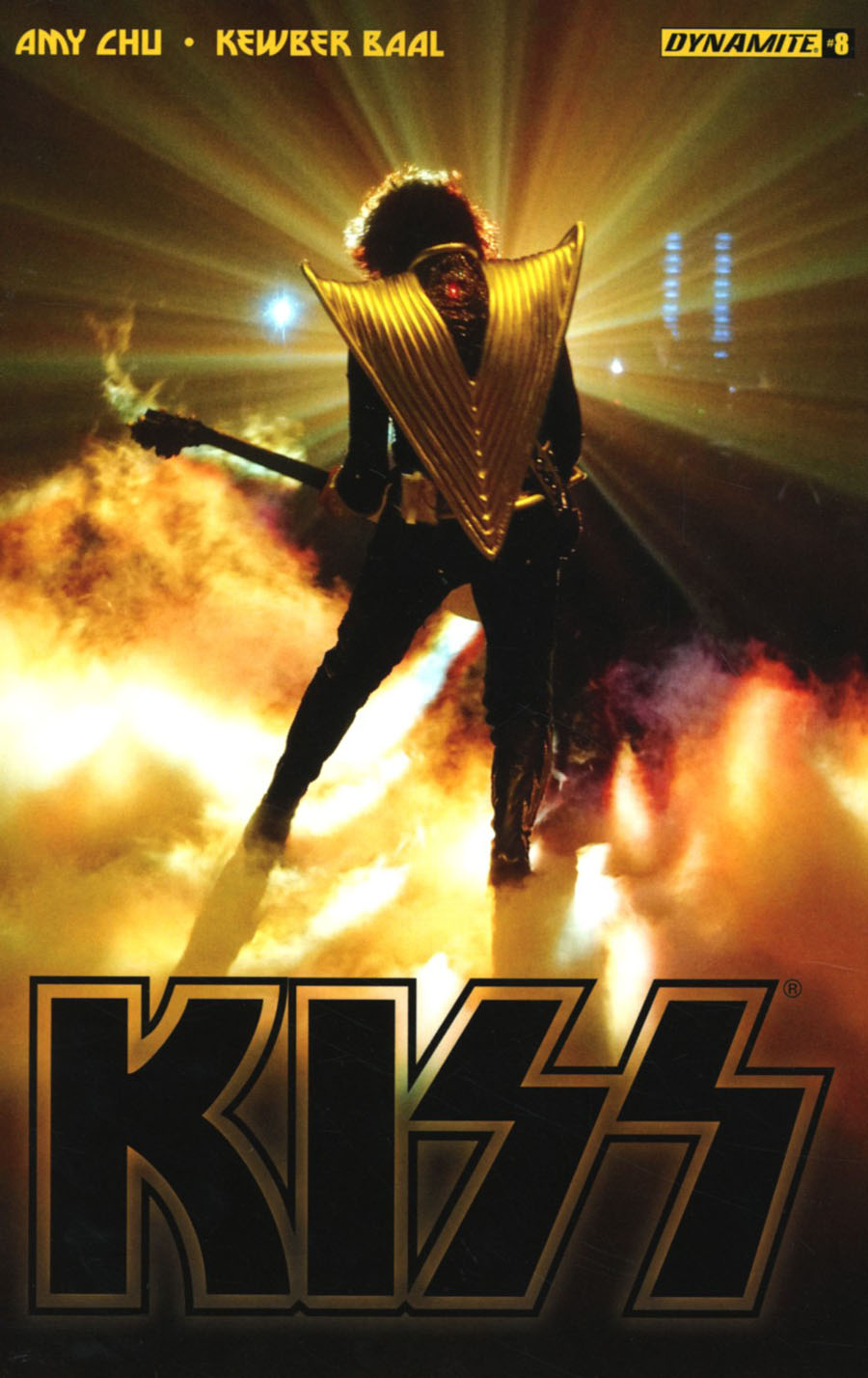 KISS Vol 3 #8 Cover C Variant Photo Cover