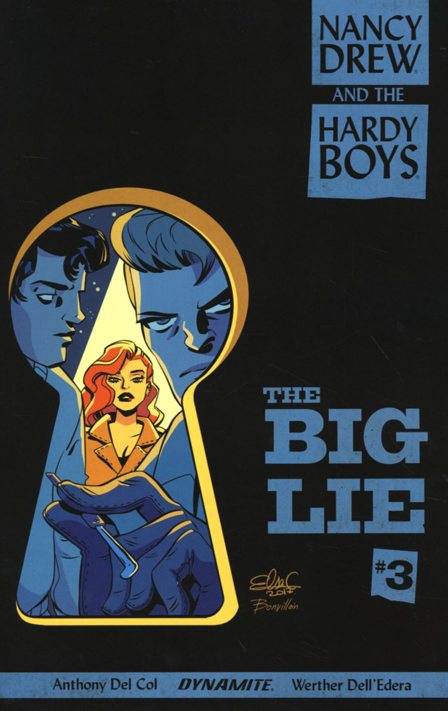 Nancy Drew And The Hardy Boys The Big Lie #3 Cover B Variant Elsa Charretier Cover