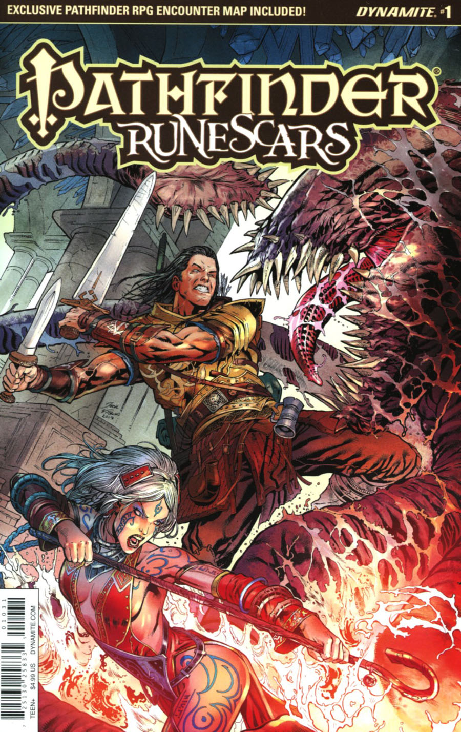 Pathfinder Runescars #1 Cover C Variant Igor Lima Cover