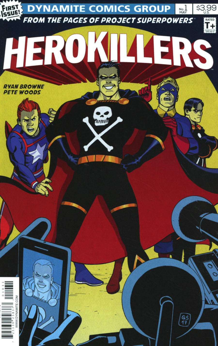 Project Superpowers Hero Killers #1 Cover C Variant Goran Sudzuka Cover