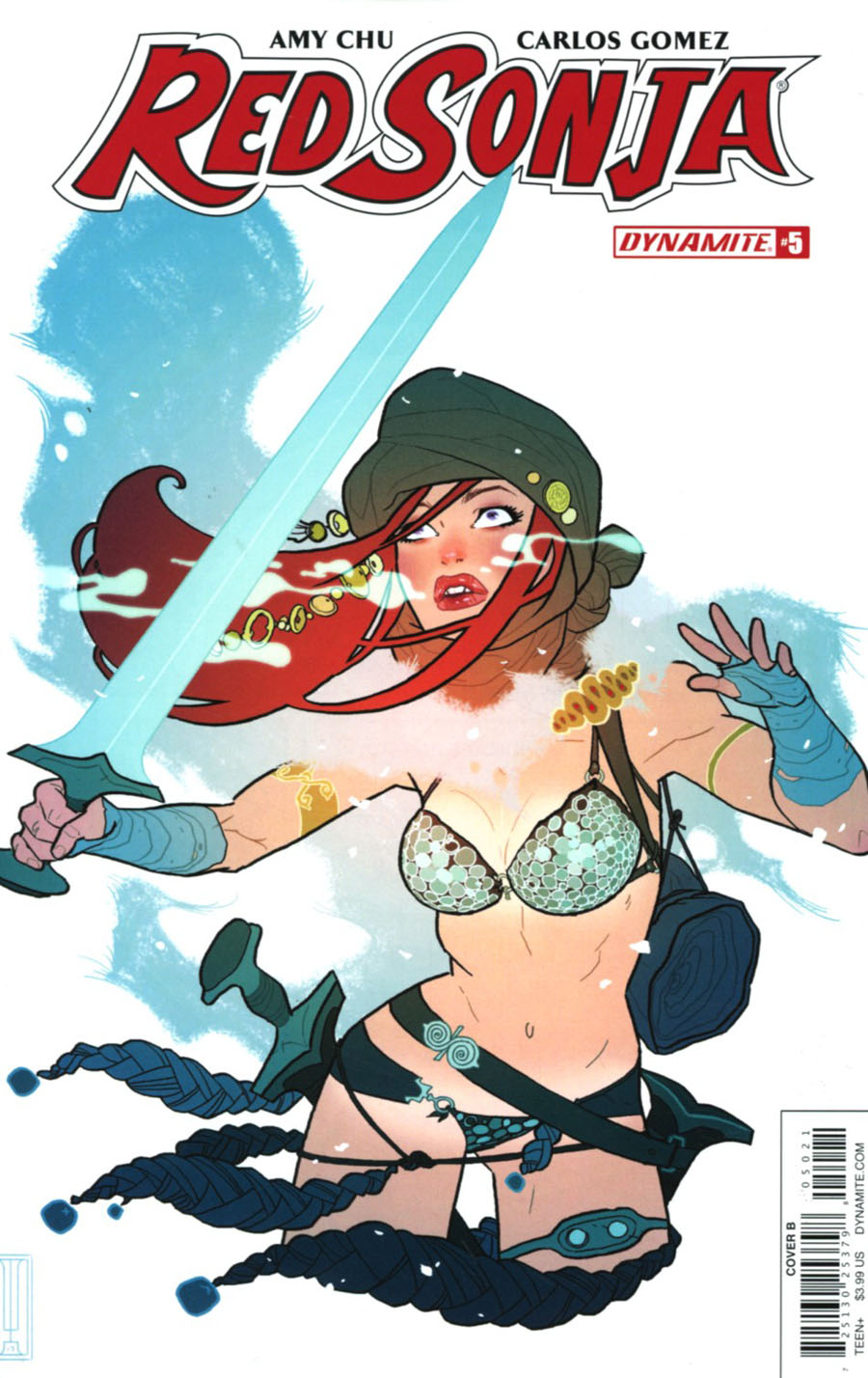 Red Sonja Vol 7 #5 Cover B Variant Ben Caldwell Cover