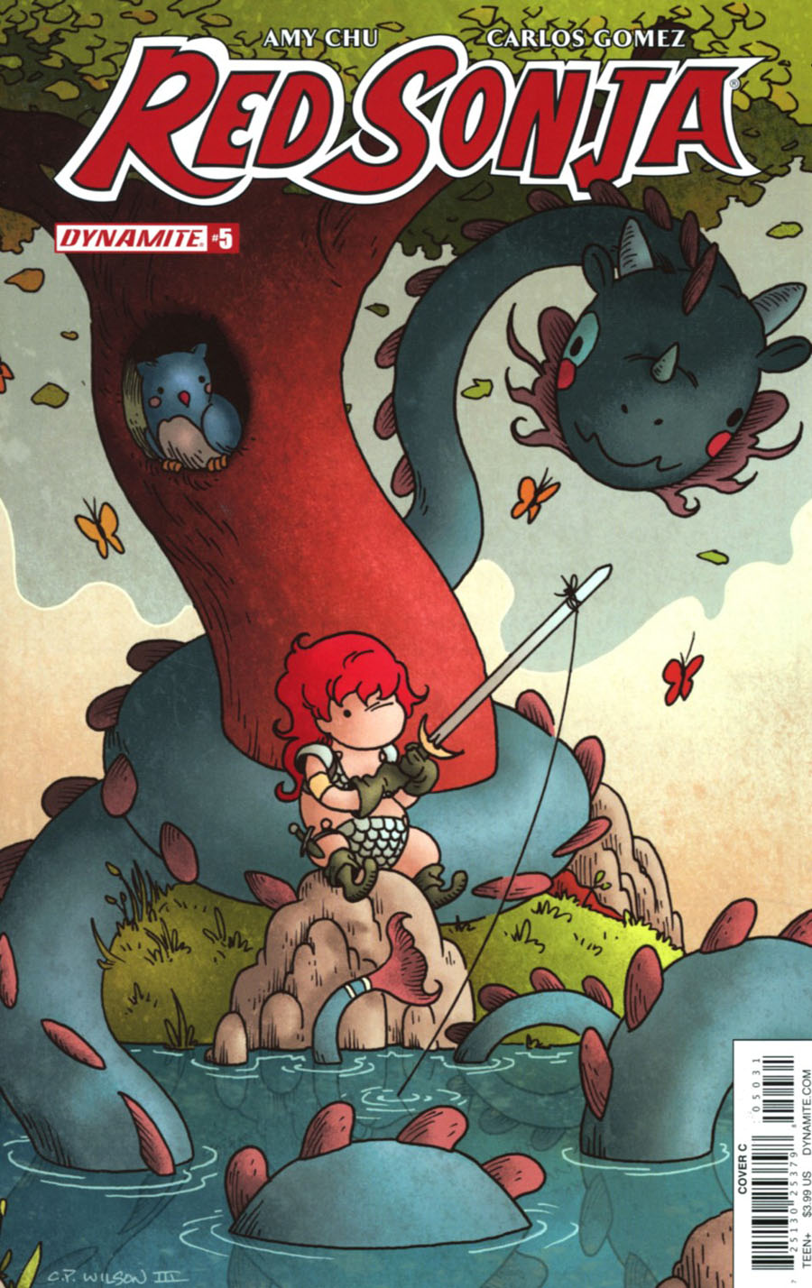 Red Sonja Vol 7 #5 Cover C Variant Charles Wilson III Cover