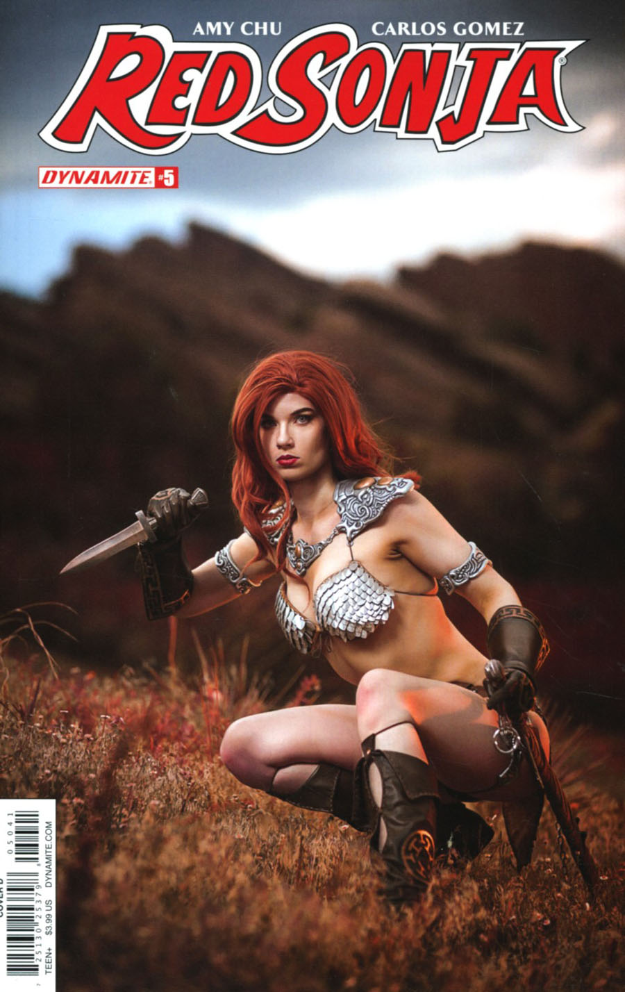 Red Sonja Vol 7 #5 Cover D Variant Cosplay Photo Cover