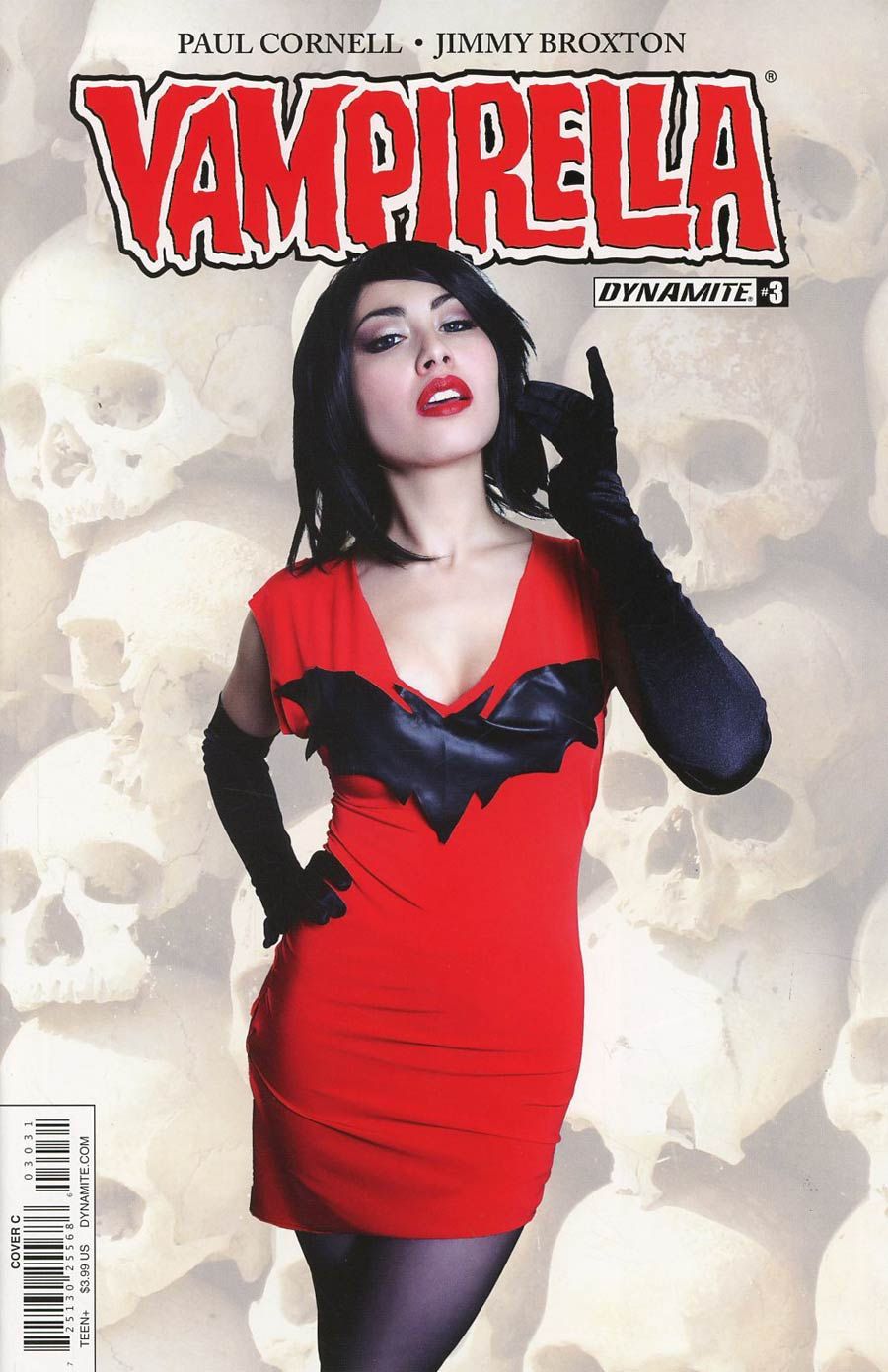 Vampirella Vol 7 #3 Cover C Variant Cosplay Photo Cover