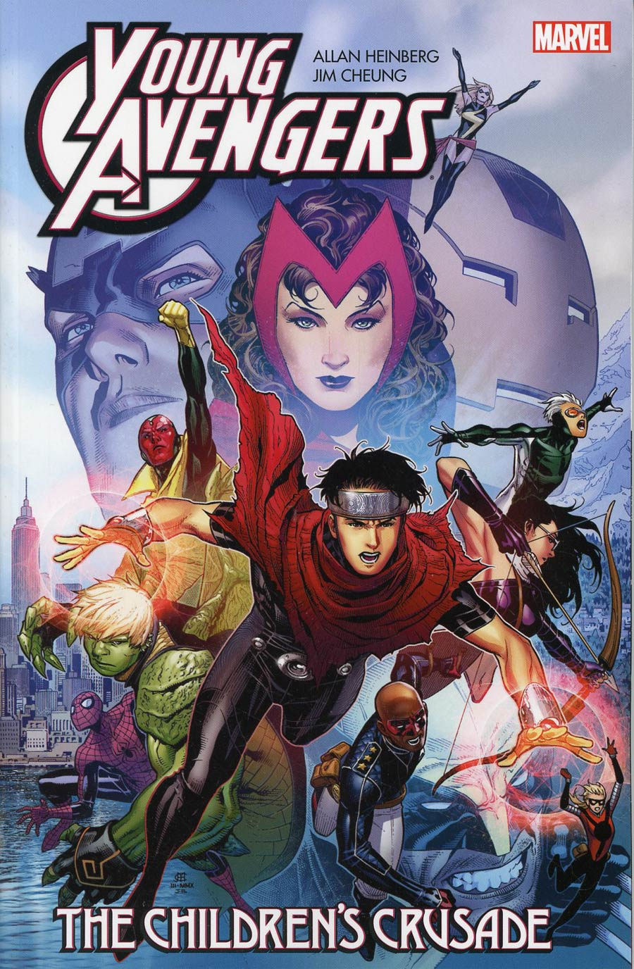 Young Avengers By Allan Heinberg & Jim Cheung Childrens Crusade TP