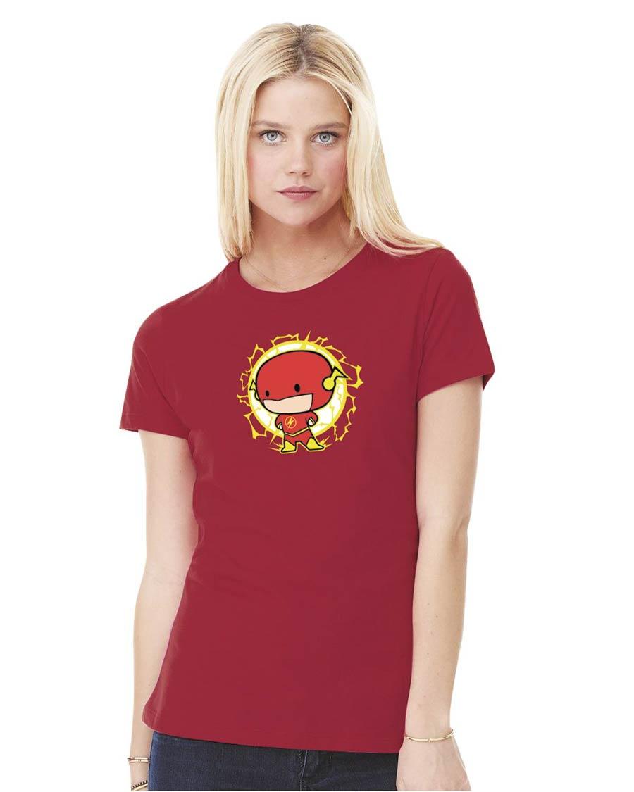Flash Cutie Womens T-Shirt Large