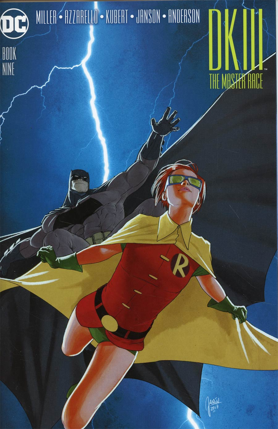 Dark Knight III The Master Race #9 Cover F Incentive Mikel Janin Variant Cover