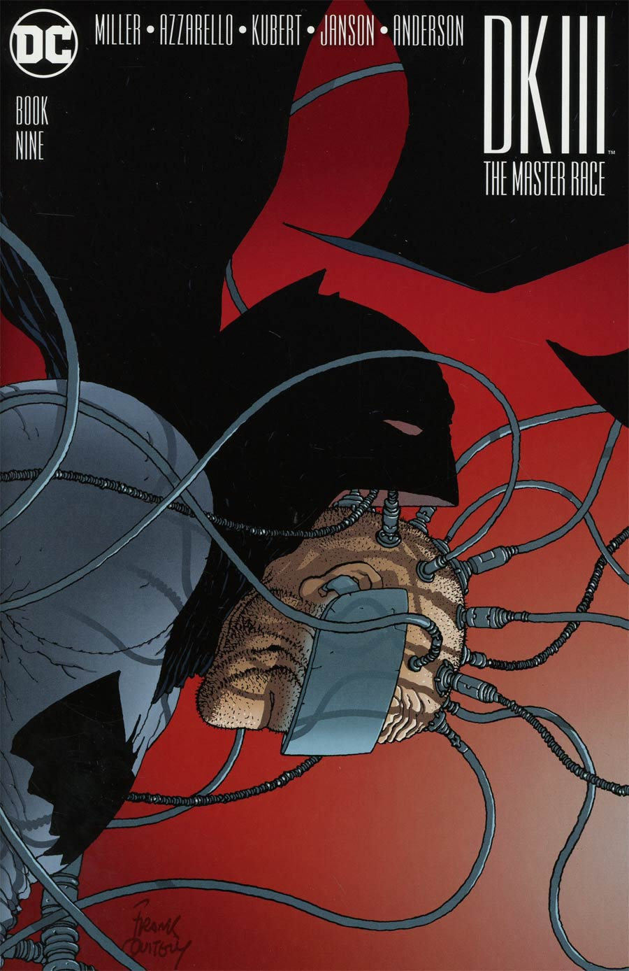 Dark Knight III The Master Race #9 Cover I Incentive Frank Quitely Variant Cover