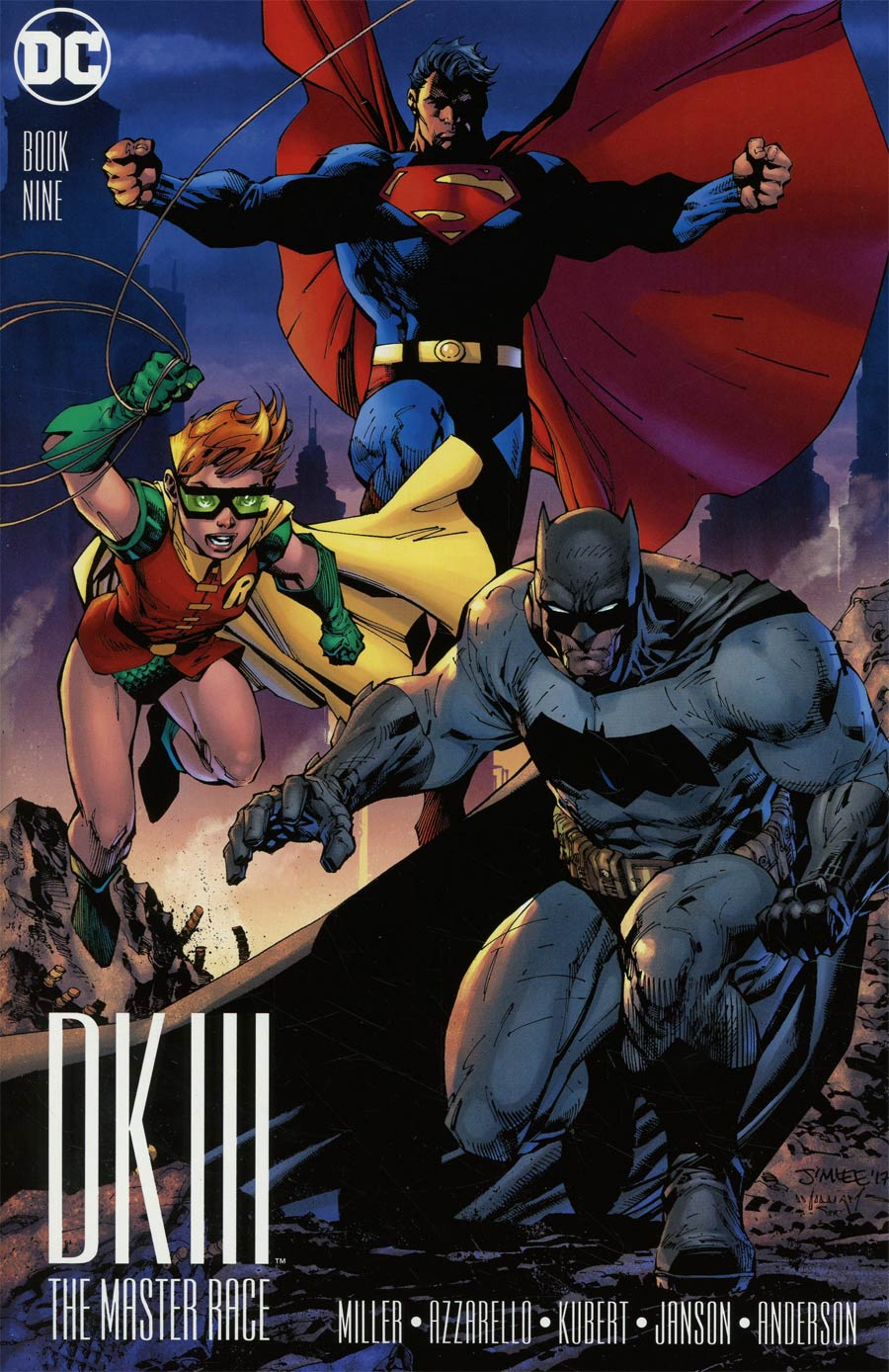 Dark Knight III The Master Race #9 Cover J Incentive Jim Lee & Scott Williams Variant Cover