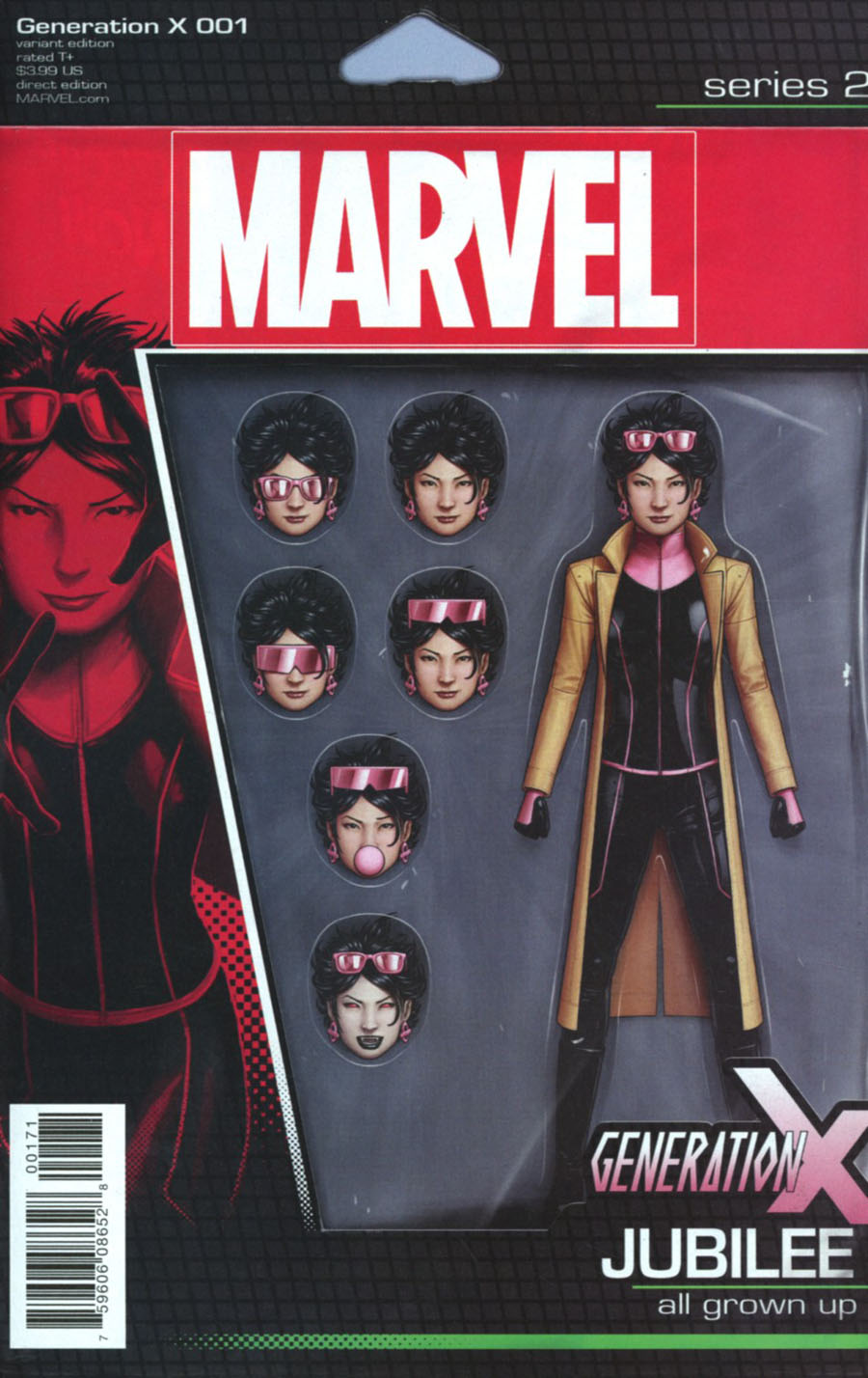 Generation X Vol 2 #1 Cover C Variant John Tyler Christopher Action Figure Cover (Resurrxion Tie-In)