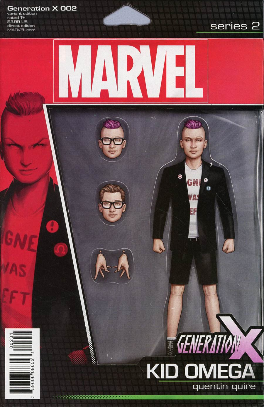 Generation X Vol 2 #2 Cover B Variant John Tyler Christopher Action Figure Cover (Resurrxion Tie-In)