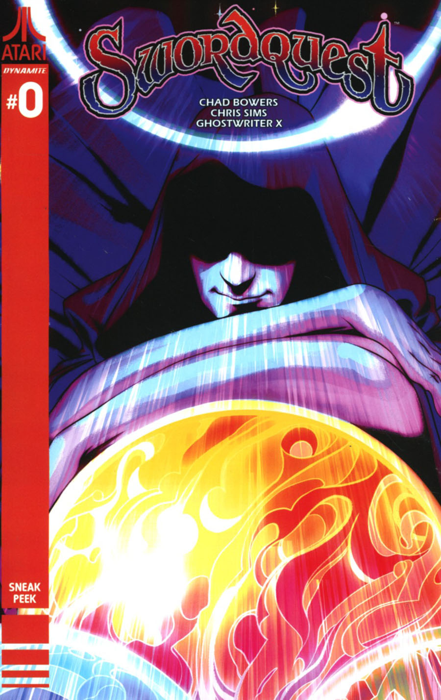 Swordquest #0 Cover C Incentive Goni Montes Sneak Peek Variant Cover