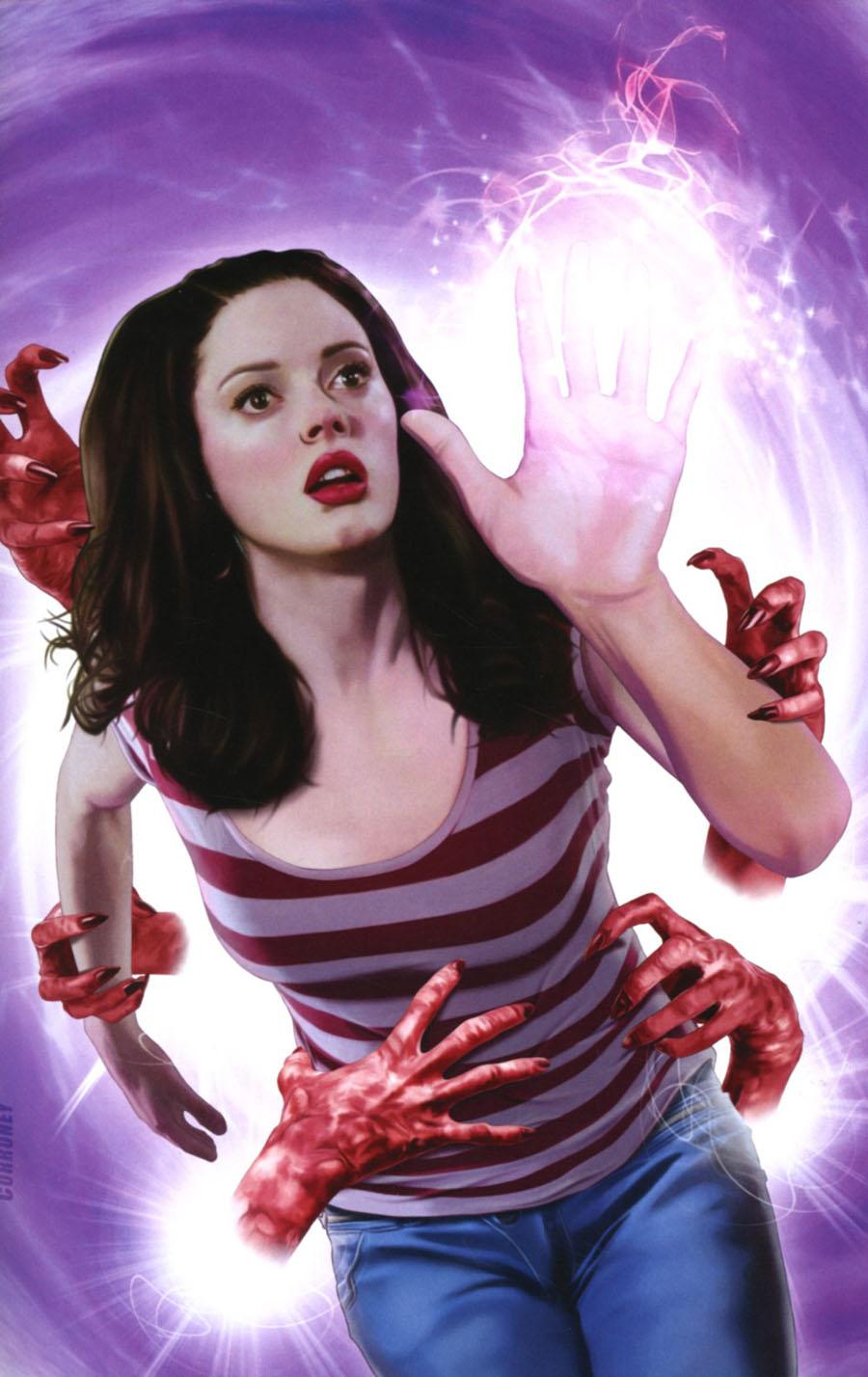 Charmed Vol 2 #3 Cover E Incentive Joe Corroney Virgin Cover