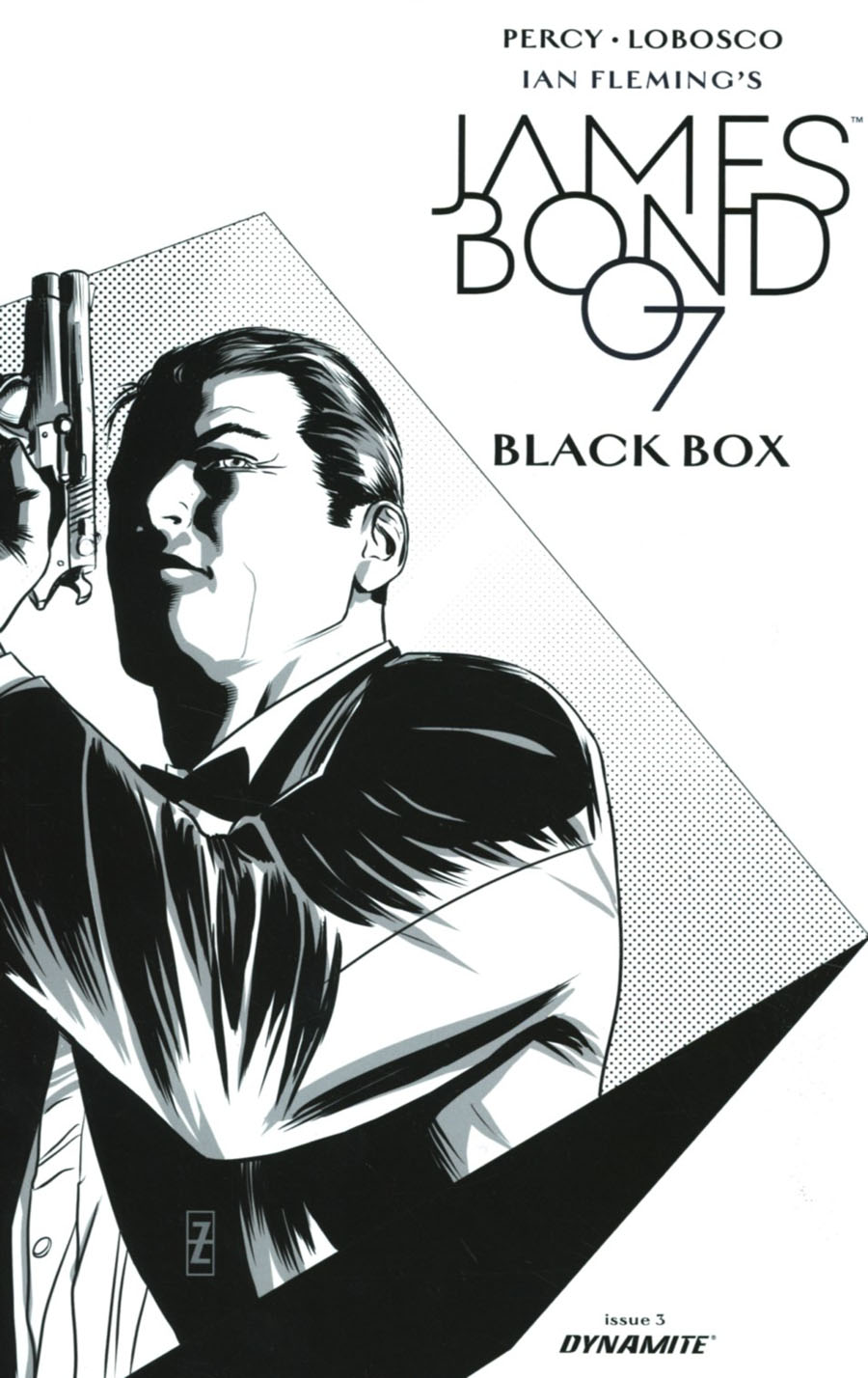 James Bond Vol 2 #3 Cover E Incentive Patrick Zircher Black & White Cover