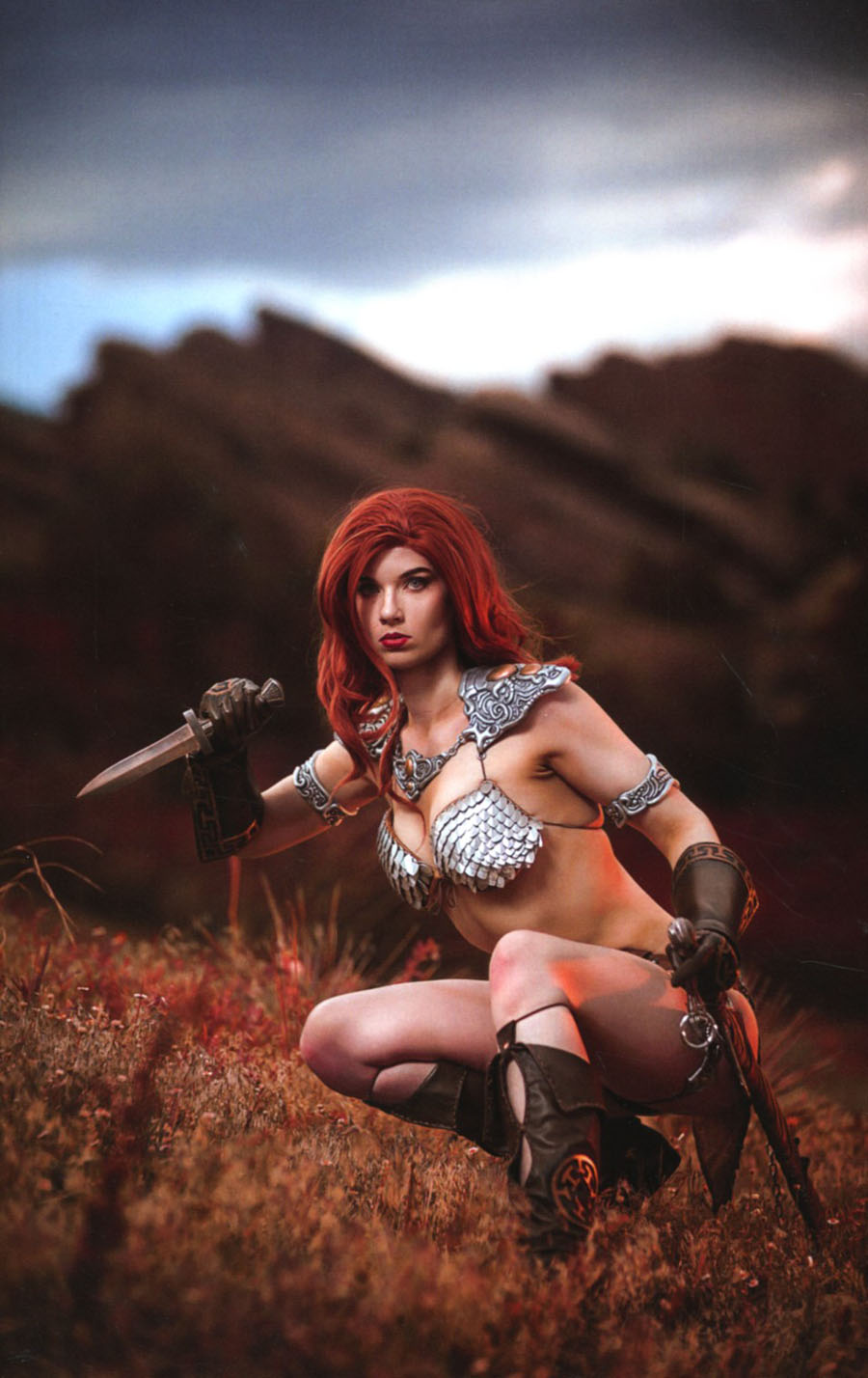 Red Sonja Vol 7 #5 Cover F Incentive Cosplay Photo Virgin Cover