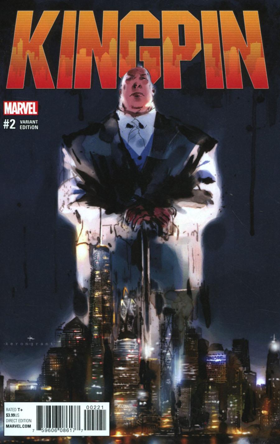 Kingpin Vol 2 #2 Cover C Incentive Keron Grant Variant Cover