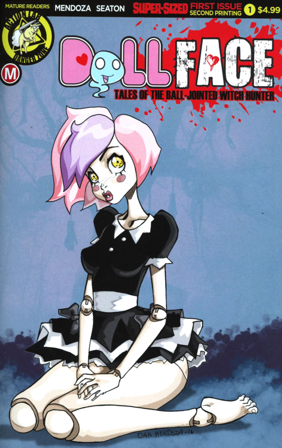 Dollface #1 Cover H 2nd Ptg Dan Mendoza Variant Cover