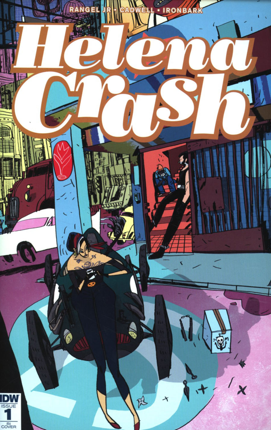 Helena Crash #1 Cover C Incentive Warwick Johnson-Cadwell Variant Cover