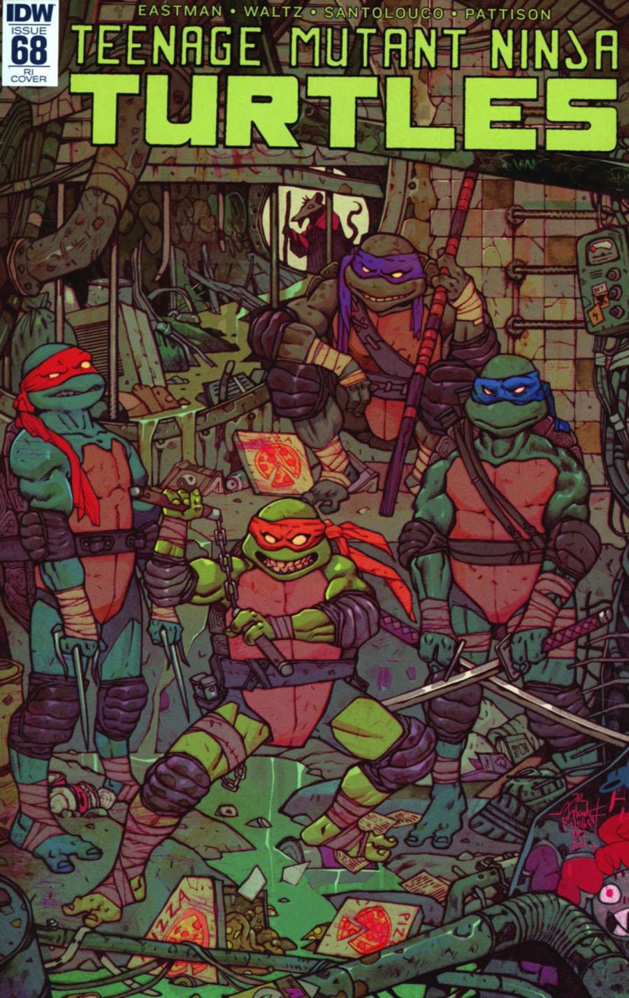 Teenage Mutant Ninja Turtles Vol 5 #68 Cover C Incentive Jakub Rebelka Variant Cover