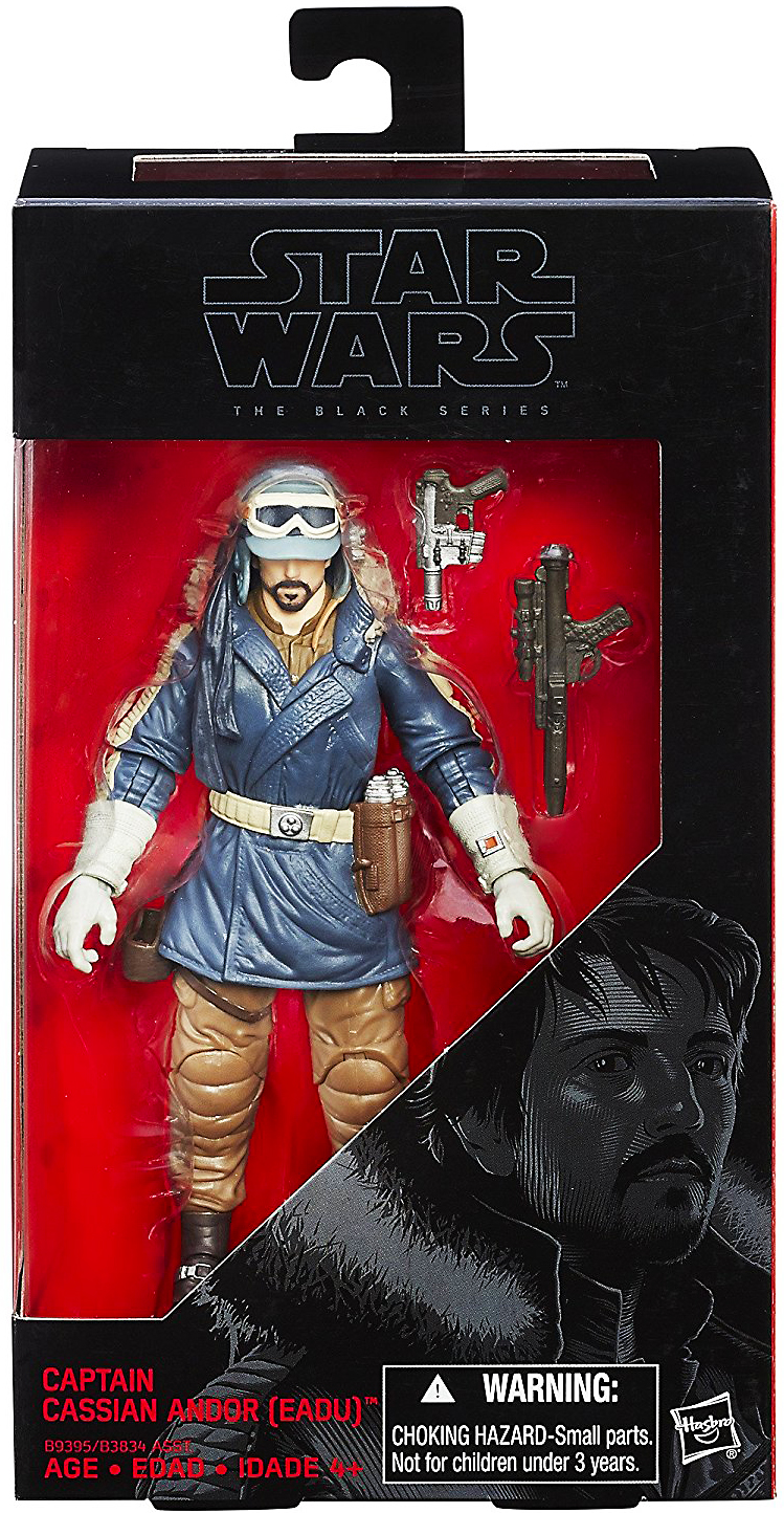 Star Wars 2017 The Black Series Captain Cassian Andor Rogue One Exclusive