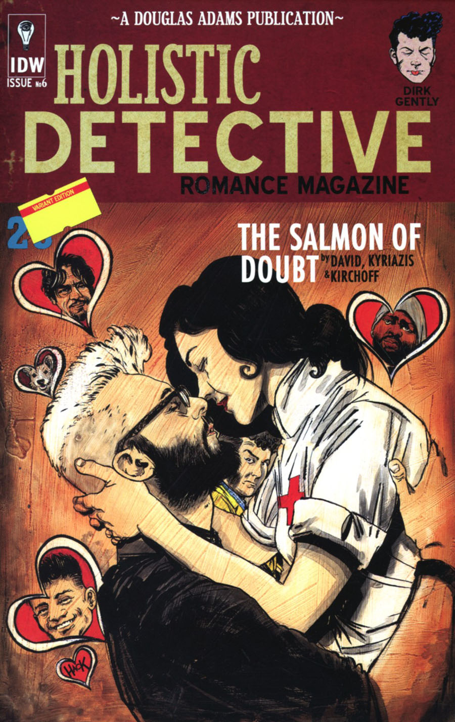 Dirk Gentlys Holistic Detective Agency Salmon Of Doubt #6 Cover C Incentive Robert Hack Variant Cover