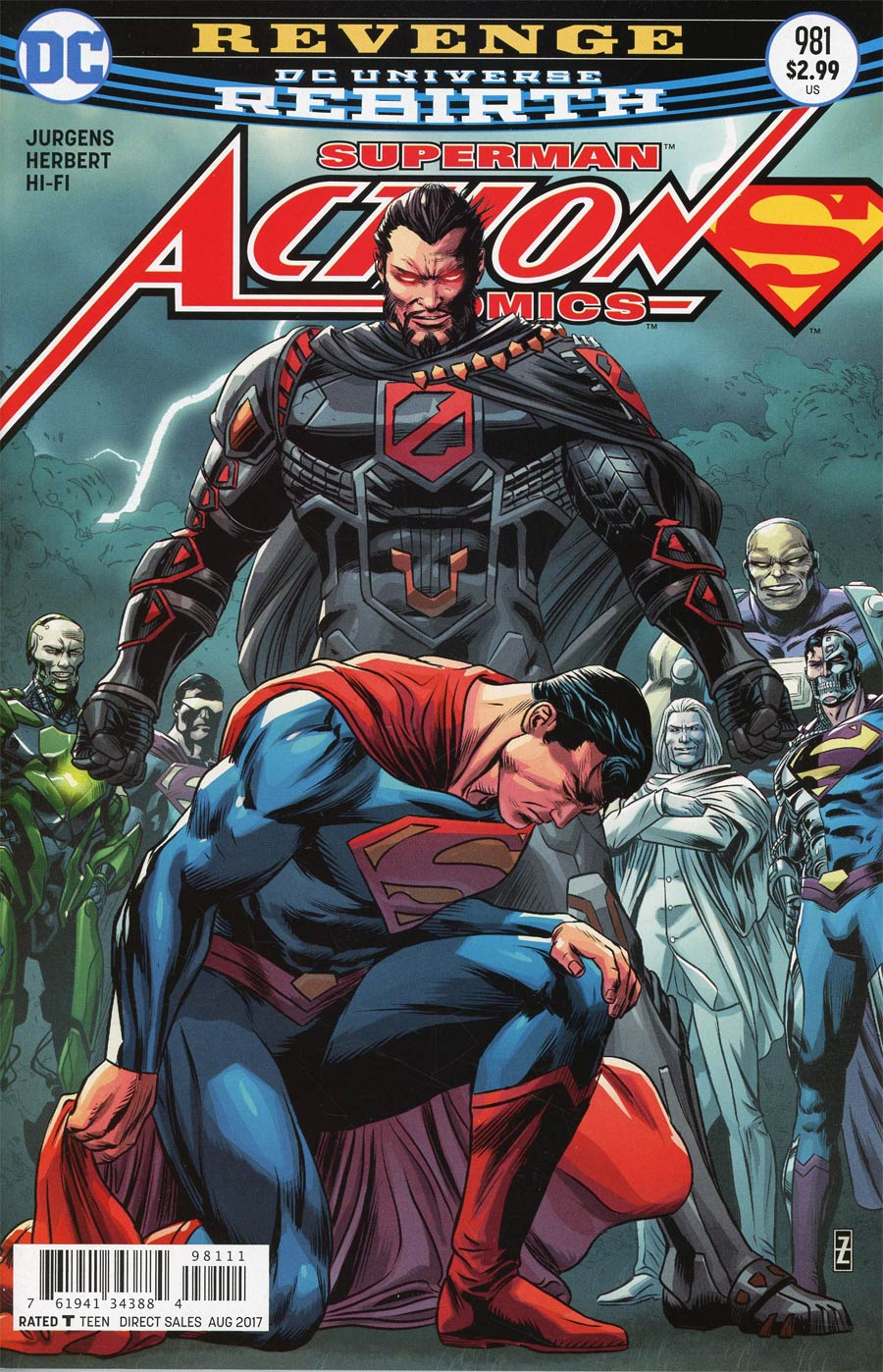 Action Comics Vol 2 #981 Cover A Regular Patrick Zircher Cover