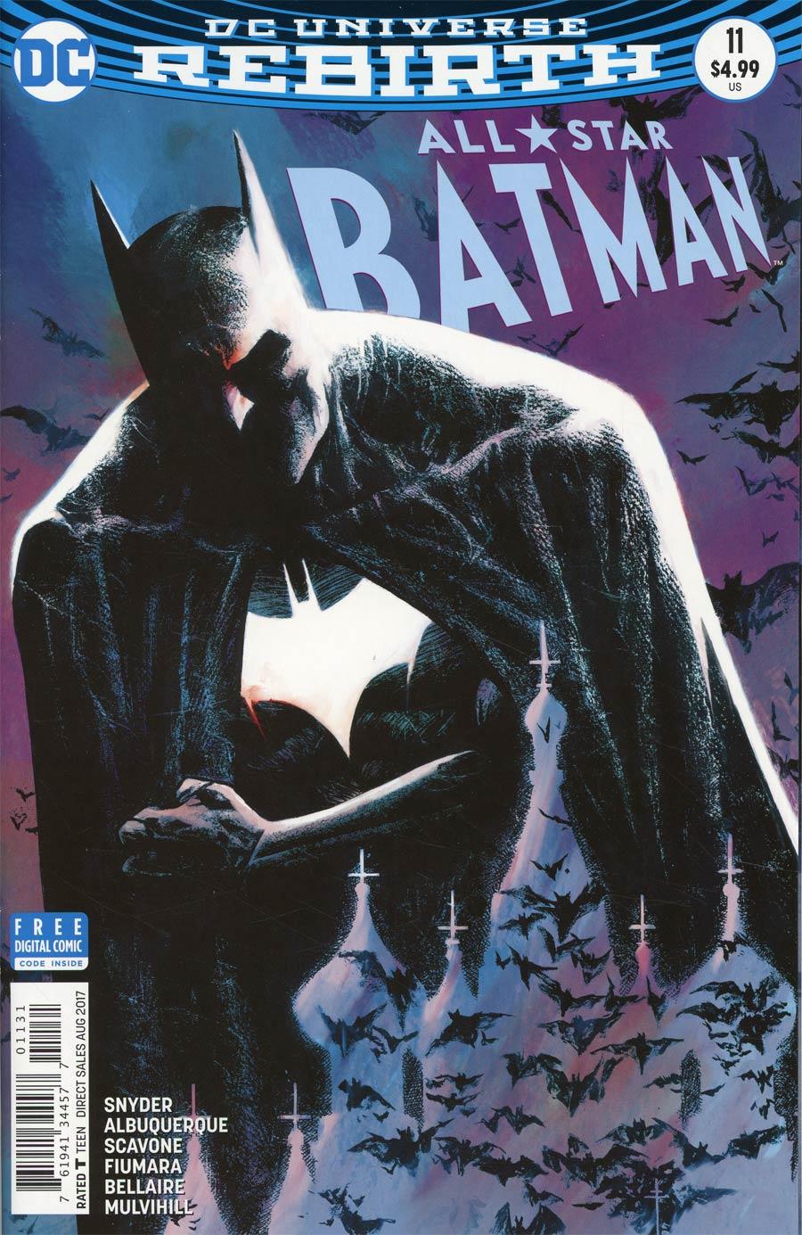 All-Star Batman #11 Cover C Variant Sebastian Fiumara Cover