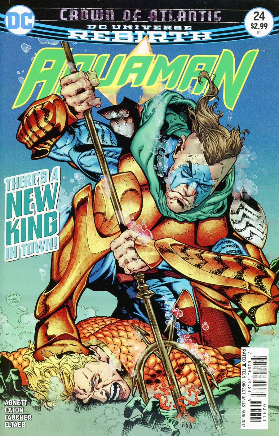 Aquaman Vol 6 #24 Cover A Regular Brad Walker & Andrew Hennessy Cover