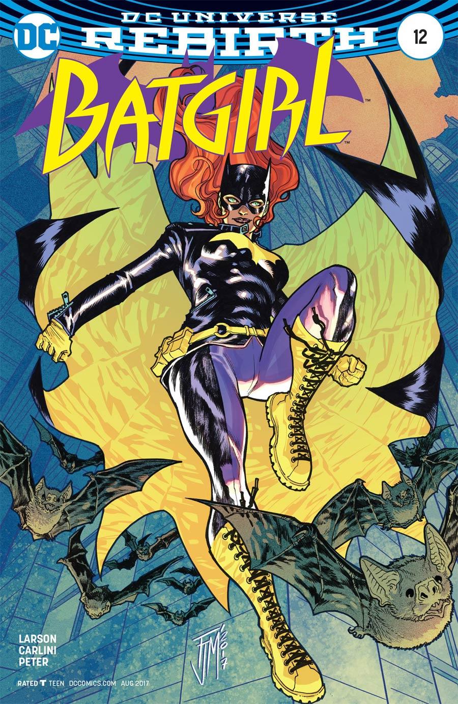 Batgirl Vol 5 #12 Cover B Variant Francis Manapul Cover