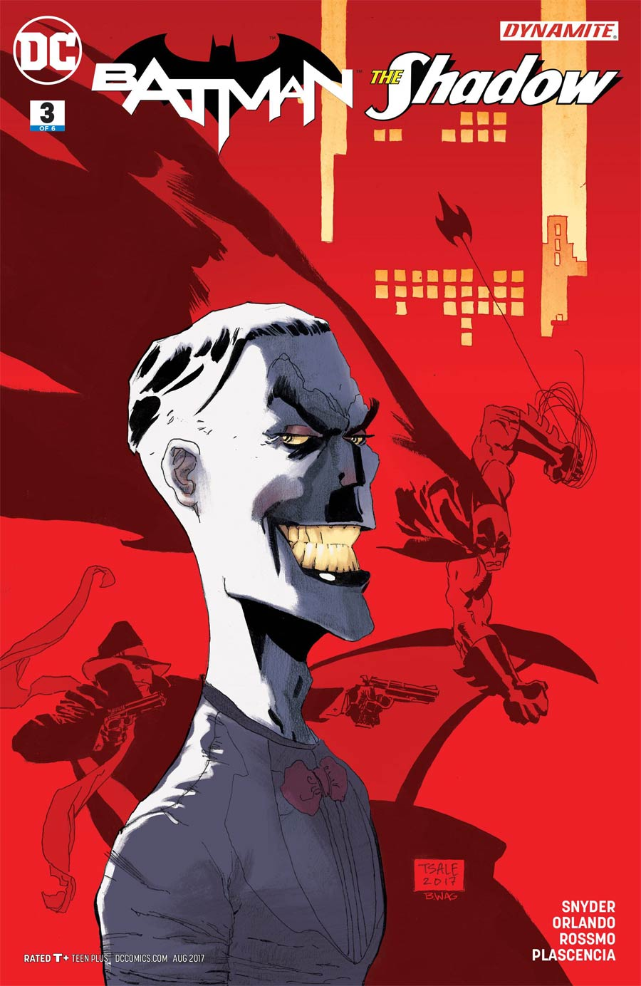 Batman The Shadow #3 Cover C Variant Tim Sale Cover