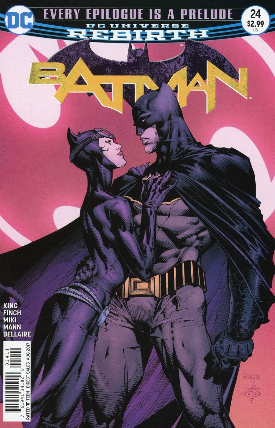 Batman Vol 3 #24 Cover A 1st Ptg Regular David Finch & Danny Miki Cover