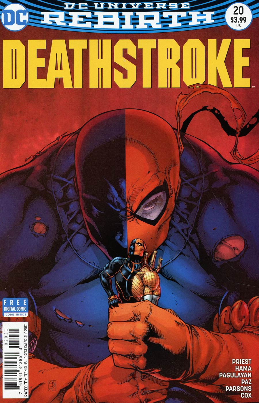 Deathstroke Vol 4 #20 Cover B Variant Shane Davis Cover (Lazarus Contract Epilogue)