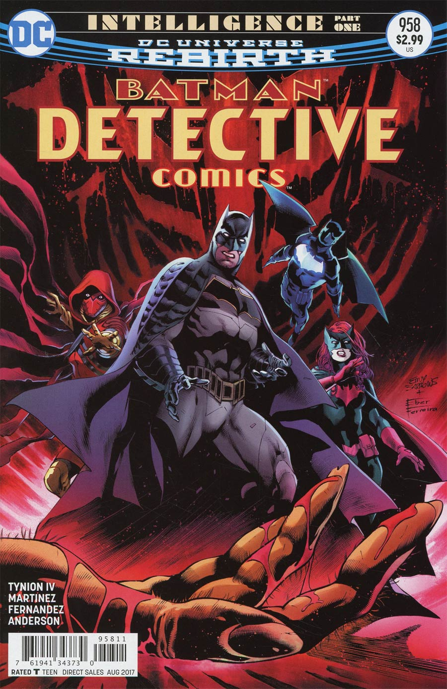 Detective Comics Vol 2 #958 Cover A Regular Eddy Barrows & Eber Ferreira Cover