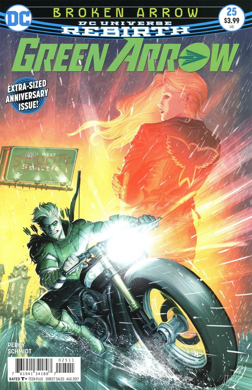 Green Arrow Vol 7 #25 Cover A Regular Otto Schmidt Cover