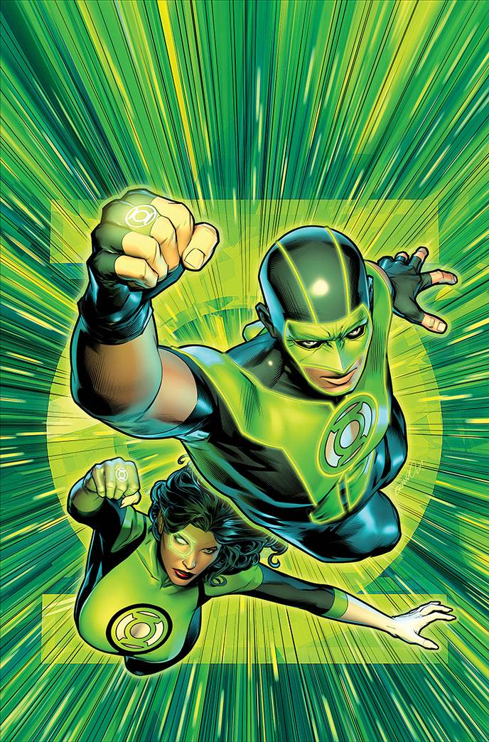 Green Lanterns #25 Cover B Variant Brandon Peterson Cover