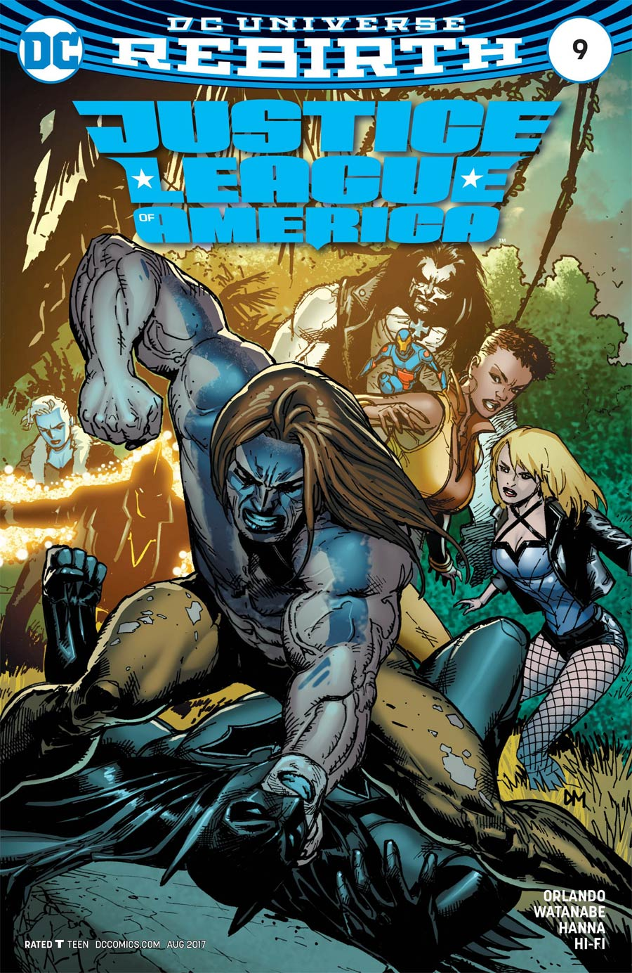 Justice League Of America Vol 5 #9 Cover B Variant Doug Mahnke Cover
